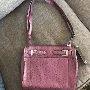 ⛄️NWT Mondani Crossbody Bag Purple faux leather